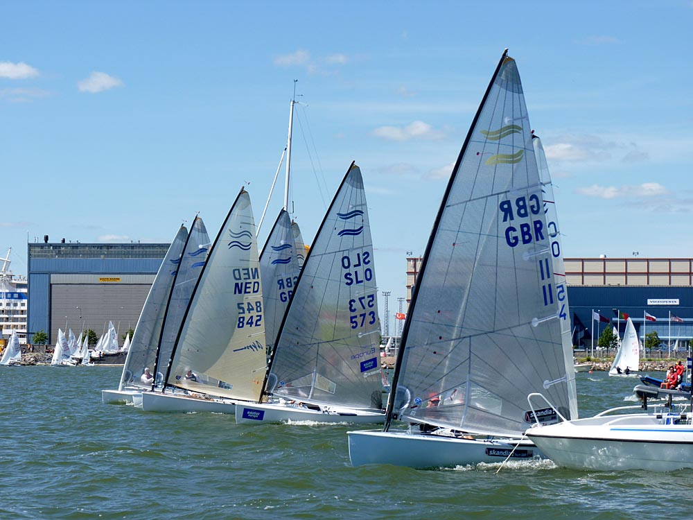 Start of medal race